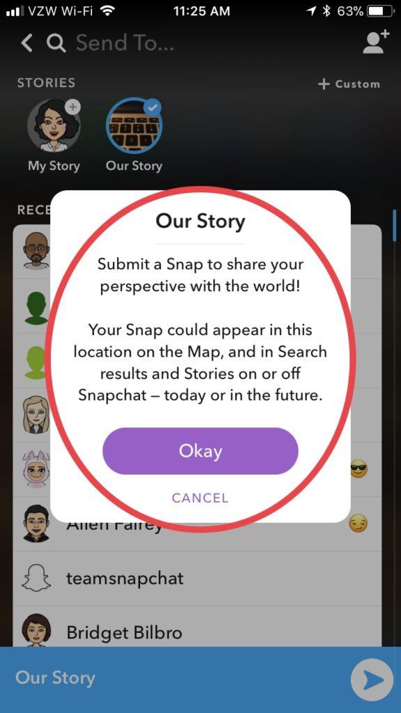 Snapchat Snapmap